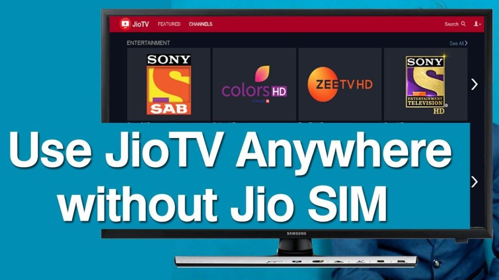 jiotv web version without jio sim