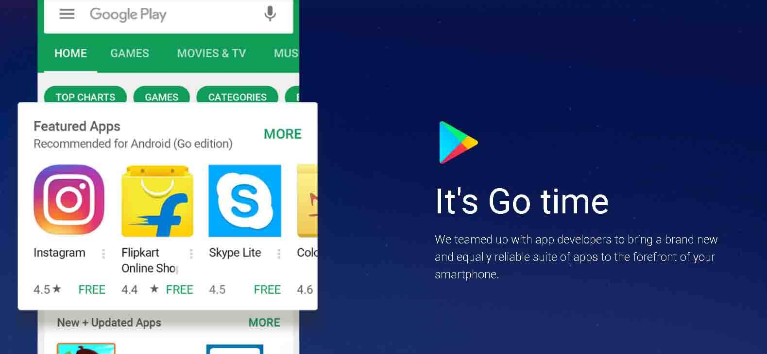 android go edition apps phone