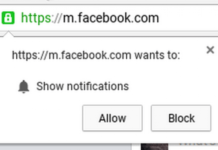 chrome notification